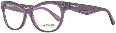 Guess by Marciano Brille Gm0320 078 53 Monturas de gafas, Morado (Violeta), 53.0 para Mujer