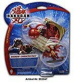 BAKUGAN Battle Brawlers - Character Pack - Clear TIGRERRA (Transparent) with Figure