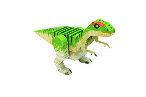 Paper Toys: Dinosaurier (Heraustrennen - Basteln - Spielen): Mit 10 beweglichen Dinosaurier-Modellen - 2