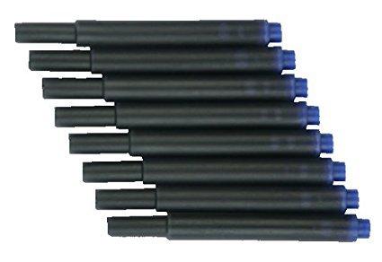 Universalpatronen Tintenpatrone f. Lamy Herlitz Pelikan Online (blau, 100 Stück)