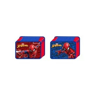 Spiderman CP Deluxe Trousse 3 zip '18