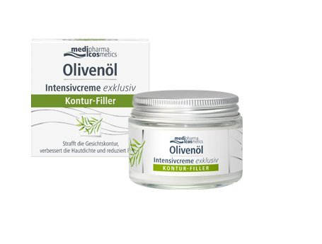 Olivenöl Intensivcreme exklusiv, 50 ml