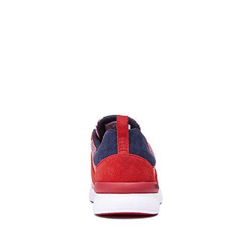 Supra Scissor, Sneaker Basse Donna Red / Navy - White