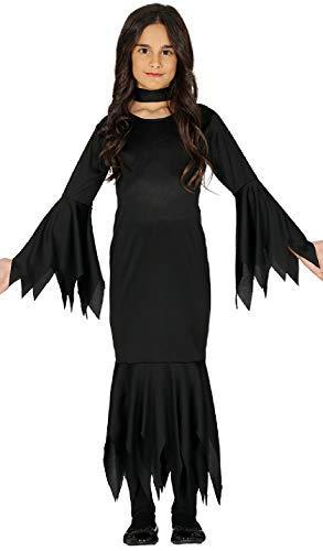 Fancy Me Mädchen Morbide Hexe Tv Film Welttag des Buches-Tage-Woche Halloween Horror Kostüm Kleid Outfit - Schwarz, 10-12 Years