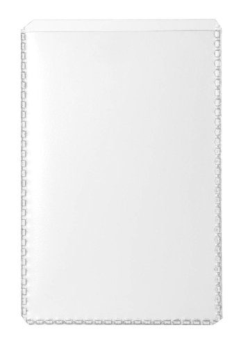 Durable 213619 Schutz- und Ausweishülle (für 54 x 86 mm große Dokumente, Visitenkartengröße) 10 Stück transparent