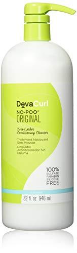 DevaCurl Devacurl No-Poo Original Cleanser Tapones para los oídos 5 Centimeters Negro (Black)
