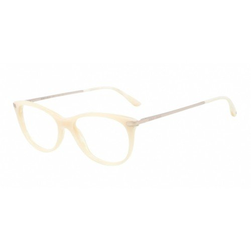 Giorgio Armani Montures de lunettes 7015 Pour Femme Matte Black, 51mm 5136: Matte White Horn