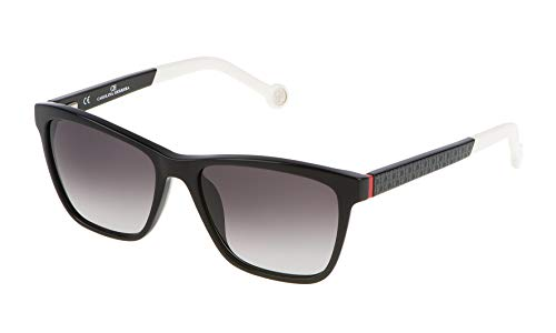 Carolina Herrera Damen SHE646530700 Sonnenbrille, Schwarz (Negro), 53