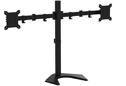 1home - Doble Brazo Soporte de Escritorio para Pantalla Plana LCD LED...