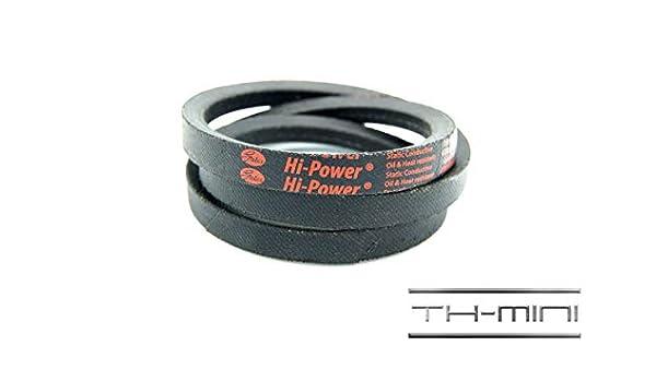 Gates 10/X 515/Li Z20 cinghia trapezoidale Hi Power