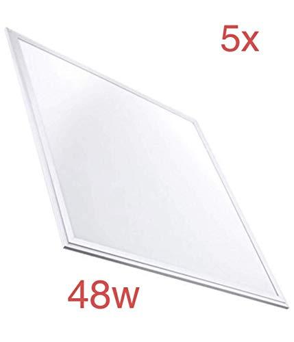 Pack 5X Panel Led 60x60cm