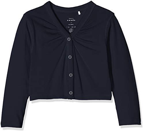 Name IT NOS Name IT NOS Mädchen Jacke Nkfviol 3/4 Bolero F, Blau (Dark Sapphire), (Herstellergröße: 122/128)