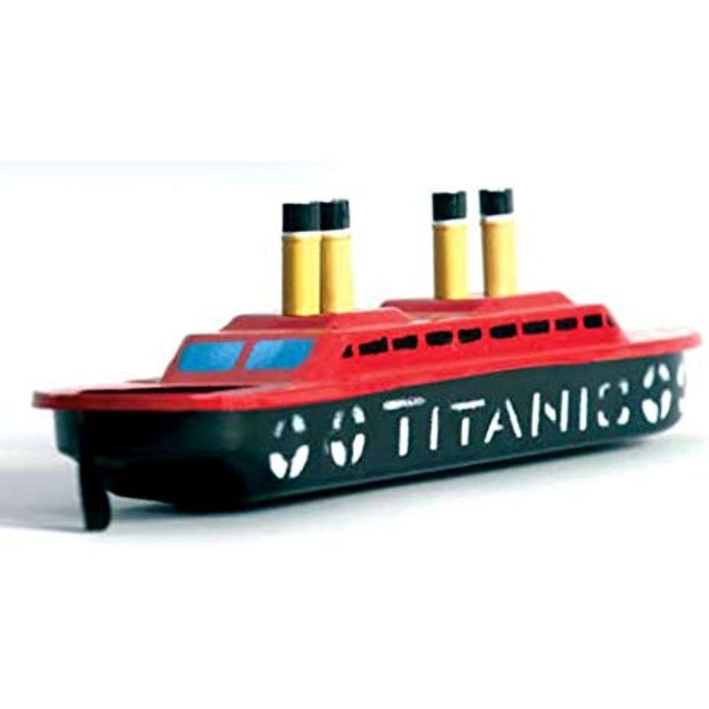 Hojalata Infantil Pintado Titanic Juguete Decorativo Barco A De Mano N80wynvOm