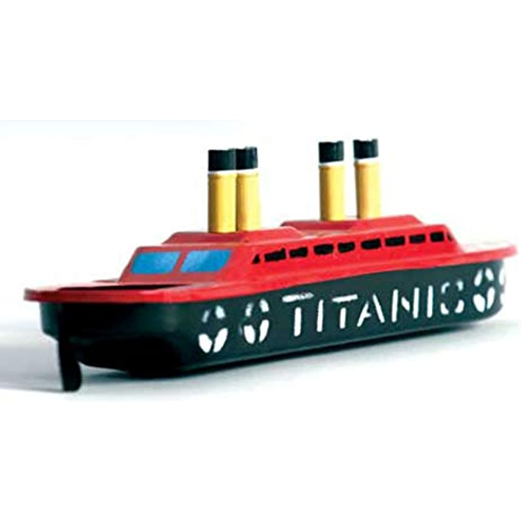 Mano Juguete Titanic Hojalata Barco Pintado Decorativo A Infantil De wPTOZlkiuX