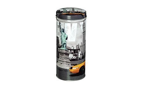 Kaffeepad Dose Vorratsdose mit New York-Motiv