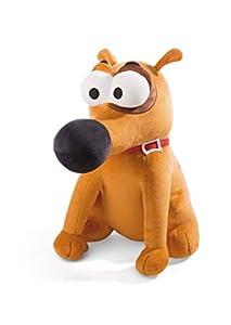 NICI 44235 Pat The Dog - Peluche Sentado (43 cm), Color marrón