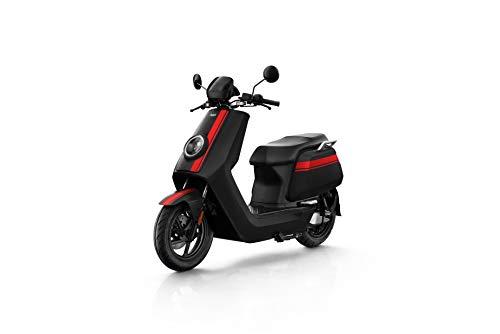 NIU N GT Scooter Elettrico – Panasonic Batteria agli ioni di Litio – Motore Bosch – Portata 100 km – 70 km/h (Nero/Rosso)