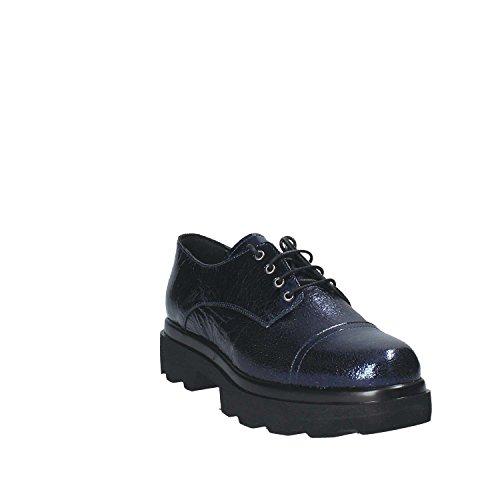 Chaussures Grace 18121 Francesina Donna Blu