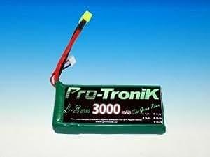 A2Pro accessoires modélisme - Accu lipo Black Lithium 7.4V 3000 mah