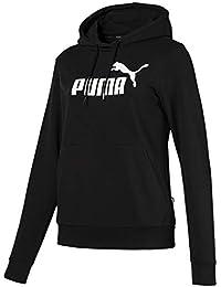 PUMA Damen ESS Logo Hoody Tr Pullover
