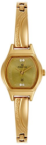 Maxima Analog Beige Dial Women's Watch - 09433BPLY image