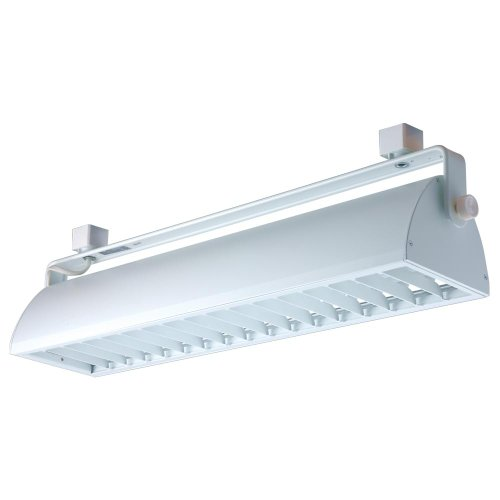 Single-circuit Lighting System (Jesco Lighting HCF240WW Contempo Series Compact Fluorescent Track Head for H 3-Wire Single Circuit Track System with White Fixture and White Louver by Jesco Lighting Group)