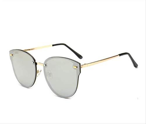shengbuzailai Weinlese-Sonnenbrille-Designer- Frauen-große Sonnenbrille-übergroße Steigungs-Sommer-Gläser Brown-Schatten A5