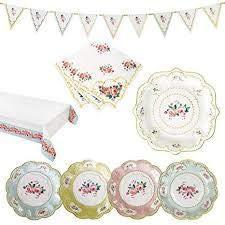 Floral Chintz (Talking Table Truly Chintz - Floral Garden Tea Party Bundle)