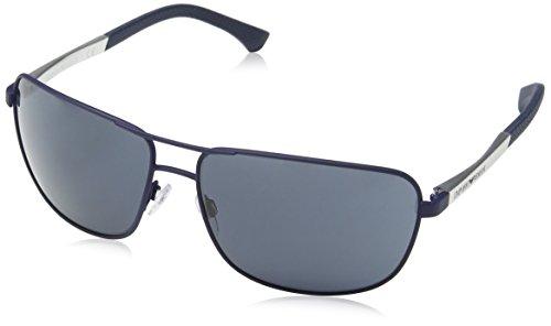 Armani Jeans- 2033 - Lunettes de soleil Homme, blue rubber 83e5e801aaf9