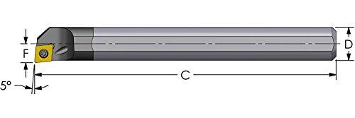 Sandvik Coromant A316-10CM210-03745G 1030 Carbide Milling Insert Positive Chip Breaker