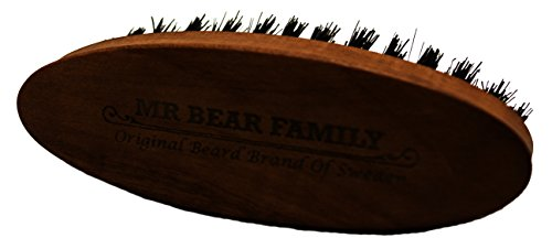 Mr Bear Family: Beard Brush Travel Beard Brush by Mr Bear Family