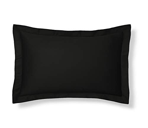 Shop Bedding Harmony Lane Klassik Tailored Pillow Sham - King, Schwarz Sham (erhältlich in 16 Farben)