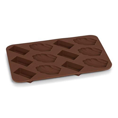 Pâtisse 19385 Set 2 Moldes Silicona Petit Fours Chocolate