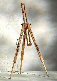 Severn Beechwood Adjustable Sketching Easel [Toy]