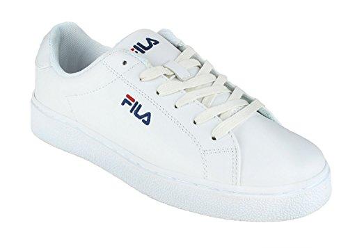 FILA Damen Upstage Low Synthetik Sneaker White Größe 38 (Fila-weiß Schuhe)