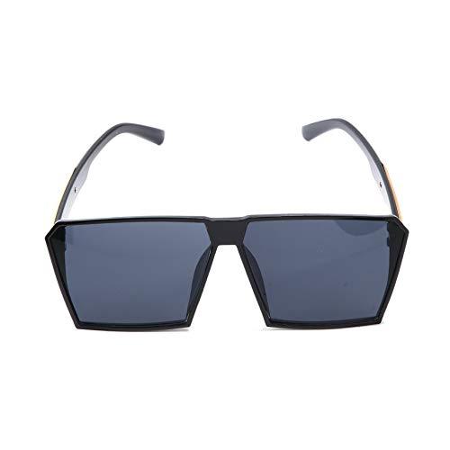 Peanutaod Moda Mujer Hombre Gafas de Sol Gafas de Gran Tamaño Anti Gafas Ultravioletter Marco Grande für Playa Mar Viajes