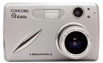 Concord EYE Q 4360Z Fotocamera digitale (4Megapixel)