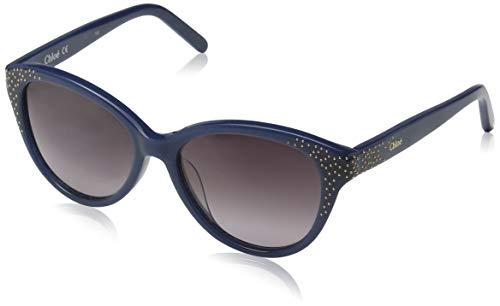 Chloé sonnenbrille ce3605s chloe occhiali da sole, blu (blau), 50.0 donna