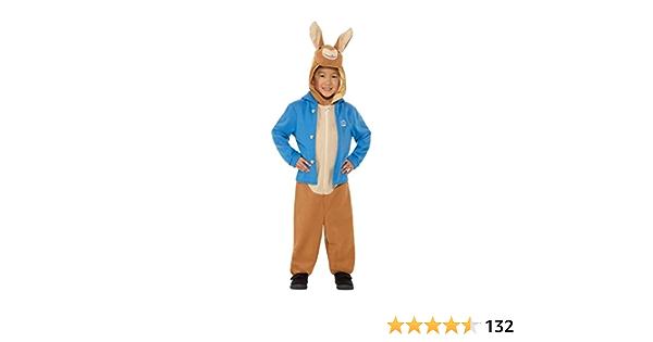 Peter Rabbit Benjamin Bunny Childrens Livre Jour Licensed Fancy Dress Outfit