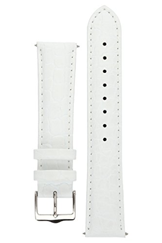 signature-siena-in-white-18-mm-short-watch-band-replacement-watch-strap-genuine-leather-silver-buckl