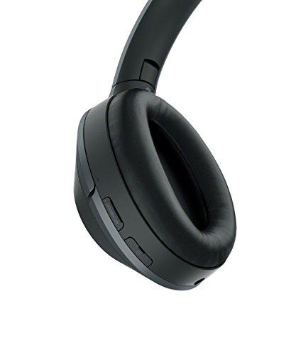 Sony Kabelloser High-Resolution WH-1000XM2 Kopfhörer (Noise Cancelling, Bluetooth, NFC, Headphones Connect App, bis zu 30 Stunden Akkulaufzeit) schwarz - 2