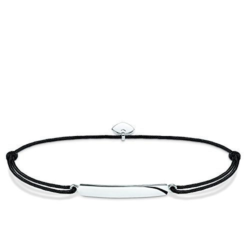 THOMAS SABO Damen Armband Little Secret Classic Classic Little Secret 925er Sterlingsilber, Nylon LS012-173-11