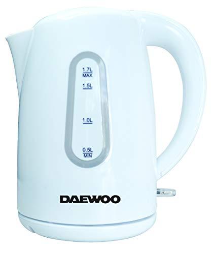 Daewoo SYM-1335 Elektrischer Wasserkocher, kabellos, Kunststoff, 2000 W