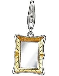 Esprit Damen-Charm Pendant Golden Mirror 925 Sterling Silber ESZZ90762A000