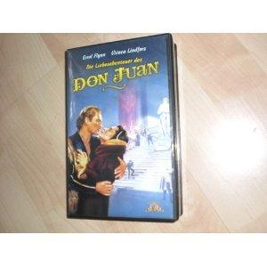 Die Liebesabenteuer des Don Juan [VHS]