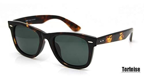 LKVNHP Sorbern TR90 Kunststoff Titan Design Polarisierte Sonnenbrille Frauen Brille UV400Sonnenbrillefür Männer Leoparden Retro Gafas De SolTortoise Sonnenbrillen