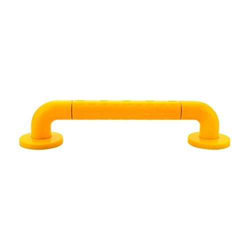 OUNONA Wand Haltegriff Duschgriff Bar Sicherheitshaltegriff Sicherheit Handschiene Unterstützung Senior Assist Bad Griff (Gelb) (Sicherheit Bad Bars)