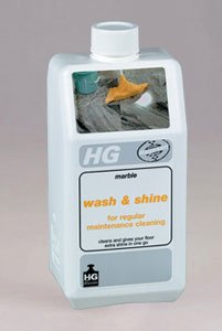 HG Hagesan Marble & Natural Stone Wash & Shine 1ltr.P37. This product has been re-branded by the manufacturer as HG Natural Stone Shine Restoring Tile Cleaner (Wash and