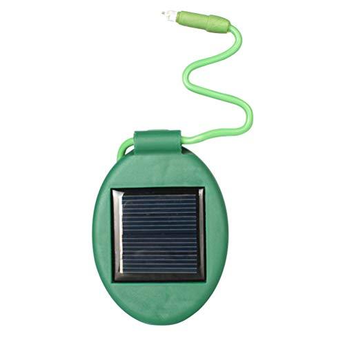 OSALADI LED Solarleuchten Outdoor Blumentopf Licht wasserdichte Pflanzenlampe (grün)