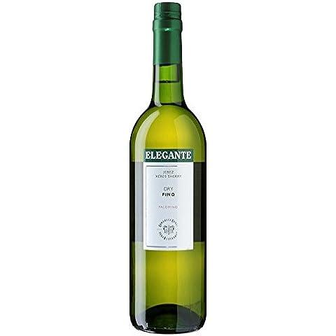 Elegante Dry Sherry Fino 750ml (paquete de 75 cl)